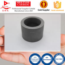 Tungsten carbide bushings and sleeves for pump
