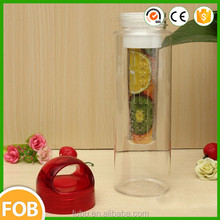 Can store in the car ,can bear the hot water,Newest fruit infuser water bottle