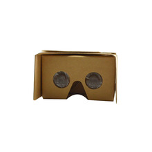 Factory direct custom branded vr viewer free gifts for you logo printing Google cardboard 3d glasses