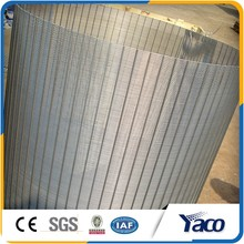 Acid and alkali smooth Rotary Strainer sieve Bend flat Panel