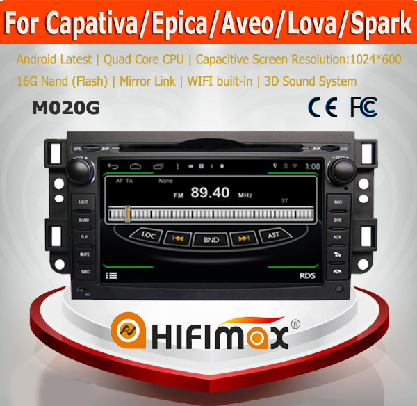 HIFIMAX Android 4.4.4 car dvd gps for Chevrolet Capativa/Epica/Aveo/Lova/Spark