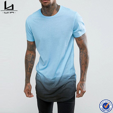 Bangladesh wholesale clothing curved hem colour fade man tshirt 2017 casual