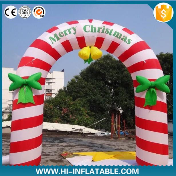New Customized Large Christmas Animated Inflatables, Cheap Outdoor Inflatable Christmas Decoration