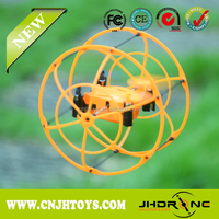2015 NEW Toys !!! 2.4G 6-Axis Mini RC Flying UFO Sky Walker Wall Climbing UFO with Auto-demonstration Flying and Auto-recycling