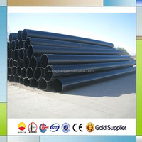 heat insulated carbon steel pipe with pur foam filled for hot water network