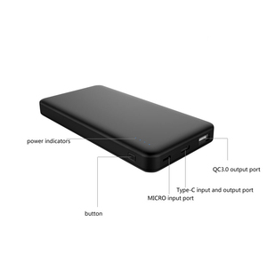 AWC476 New desgin PD power bank portable power bank for laptop QC2.0 Fast battery charger 10000mah