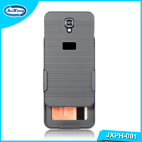 Back Hard Case Belt Clip Cover Normal Holster for LG X Screen K500H