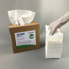 JW3339 White 70gsm Dust Free Industrial Disposable Cleaning Dry Wipes