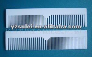 scissors hair combs,convenient comb , disposable travel comb