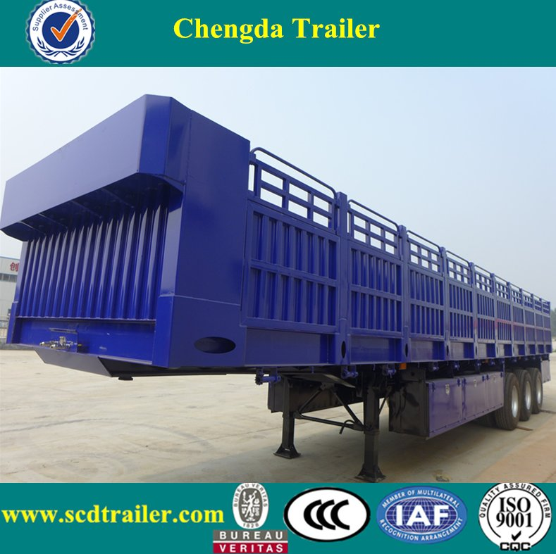 Chinese semi trailer air bag suspension and motorcycle cargo trailer for sale