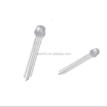 DIP 4-pin straw through hole LEDs ultra bright lamp 5mm light emitting rgb diode