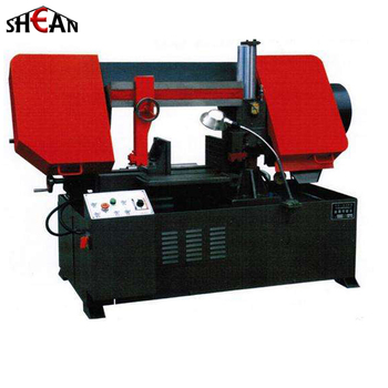 semi-automatic high efficiency band saw cutting machine GZ4235