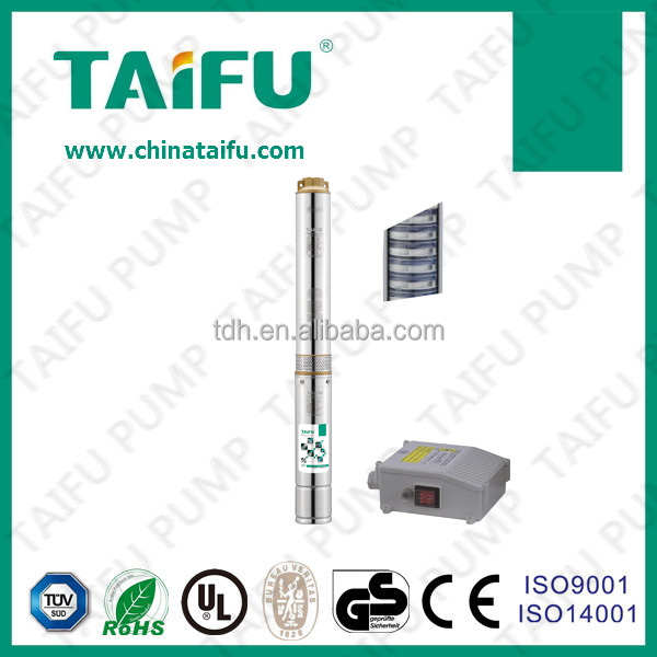 TAIFU vertical deep well submersible tube well water transfer pump