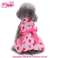 Summer cool dog dress dog clothes summer strawberry dog clothes dress