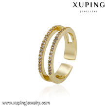 14556 xuping famous jewelry beautiful pictures of rings adjustable wedding rings