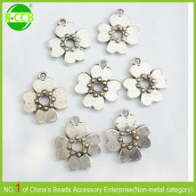 alloy small decorative metal flower for crafts