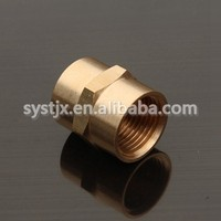 China supplier female and male threaded brass bushing