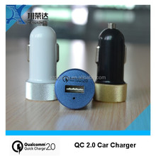 Super fast usb car charger qc2.0 car charger mobile phone accessories made in china