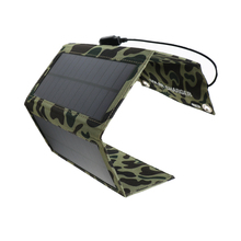 7W Waterproof Flexible Solar Panel For Cell Phone Camping Travelling