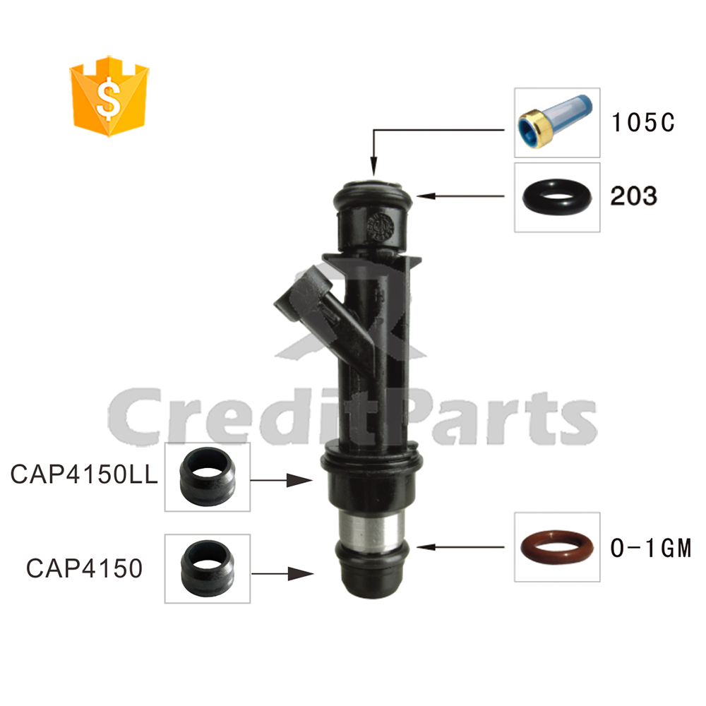 fuel injector repair kits CF-007 for Delphy fuel injector