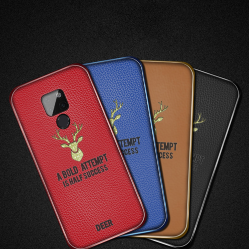 Simple Plating Deer Phone Case For Huawei Mate <strong>10</strong> 20 <strong>Pro</strong> P10 Plus P20 <strong>Pro</strong> For Honor <strong>10</strong> V10 Play 8X Max Nova 2S 3 3i Magic2 Cover