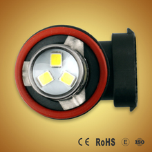 New design H8 H11 motorcycle yellow led rear fog light