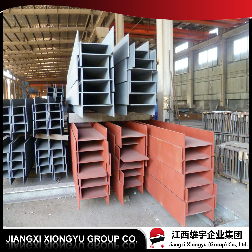 G3101 SS400 SS540 h section high frequency welded h-section steel column beam