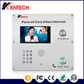 Industrial grade KNZD-70 SIP high-definition two-way video intercom speed dial emergency telephone