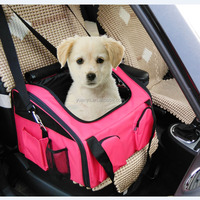 Wholesale pet car seat carrier dog cat carrier bag 3 in 1