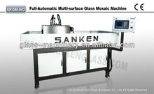 PLC Automatic Excellent Glass Mosaic Making Machinery Good Price