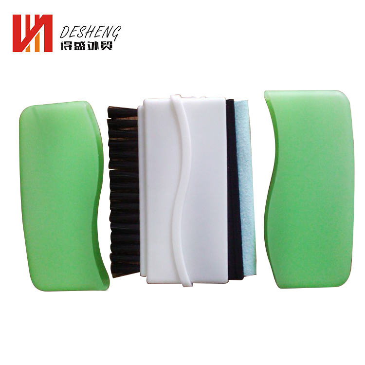 Wholesale novelty 2 in 1 computer keyboard brush screen cleaner