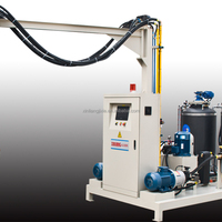 PLC High Pressure Foaming Machine Pu
