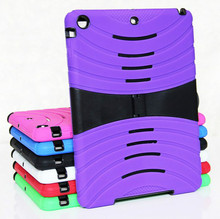 Hybrid Silicone Hard Stand Case Cover for iPad Air iPad 5 Tablet