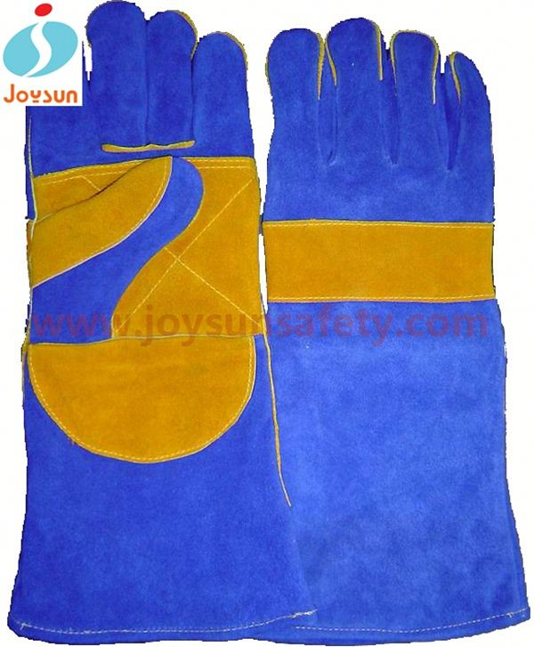 cheap welding gloves reinforced jewellery gloves