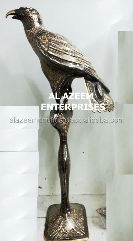 Hand Made Eagle Shape Brass crafts Pakistan For Home & Office Decor / Brass handicrafts / Best Gift