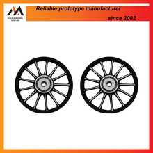 cnc milling aluminum alloys bicycle wheel rims rapid prototyping