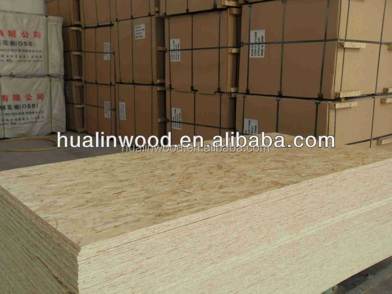 9mm cheap osb board produced in China supplier
