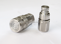 stainless steel quick coupling push and pull type