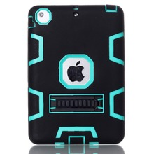 wholesale Silicone PC shockproof case for ipad mini