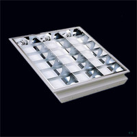Germany market High speed recessed parabolic lighting louver made in China
