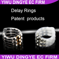 Magnetic Therapy Ring lock delay Action Male Adult Sex products Cock Ring Penis Delay Rings Foreskin Protection