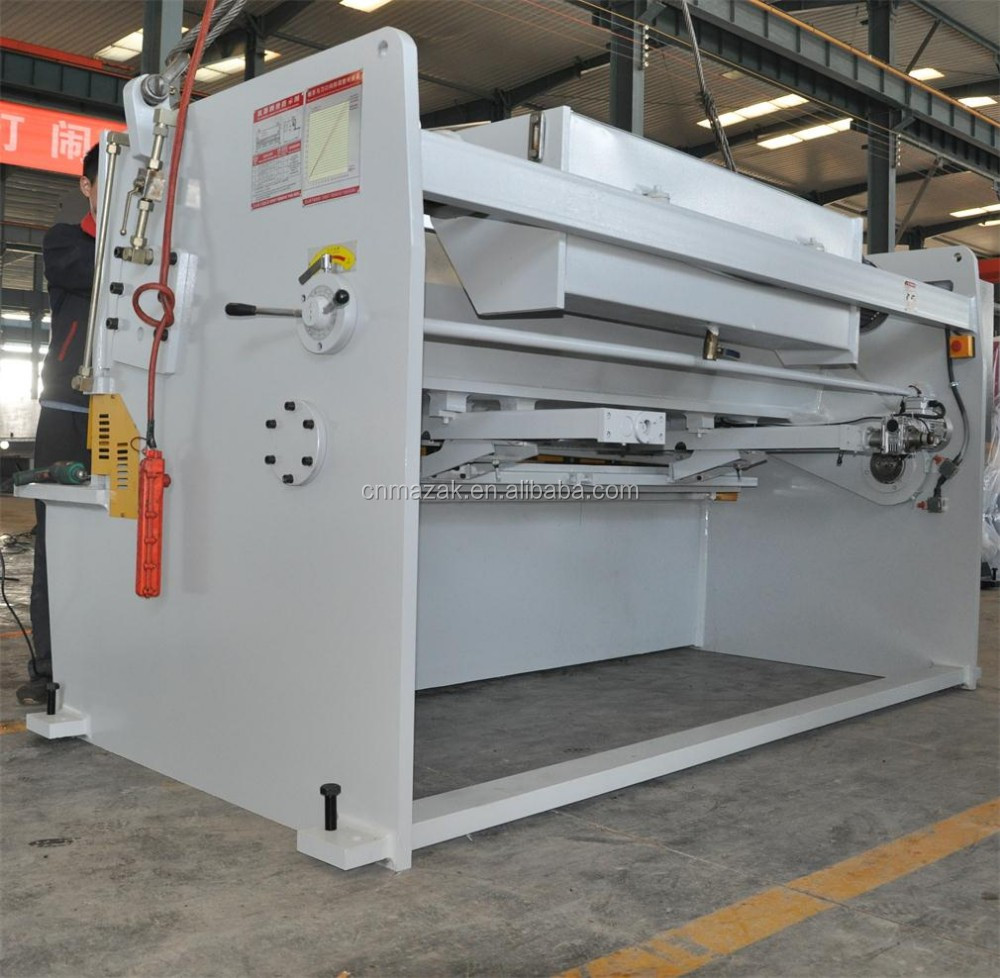Q11 Mechanical Shearing Metal Cutting Machine Guillotine Shear