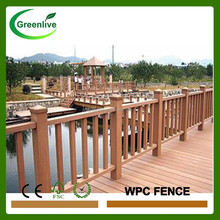 Durable Prefabricated WPC Fence Mesh