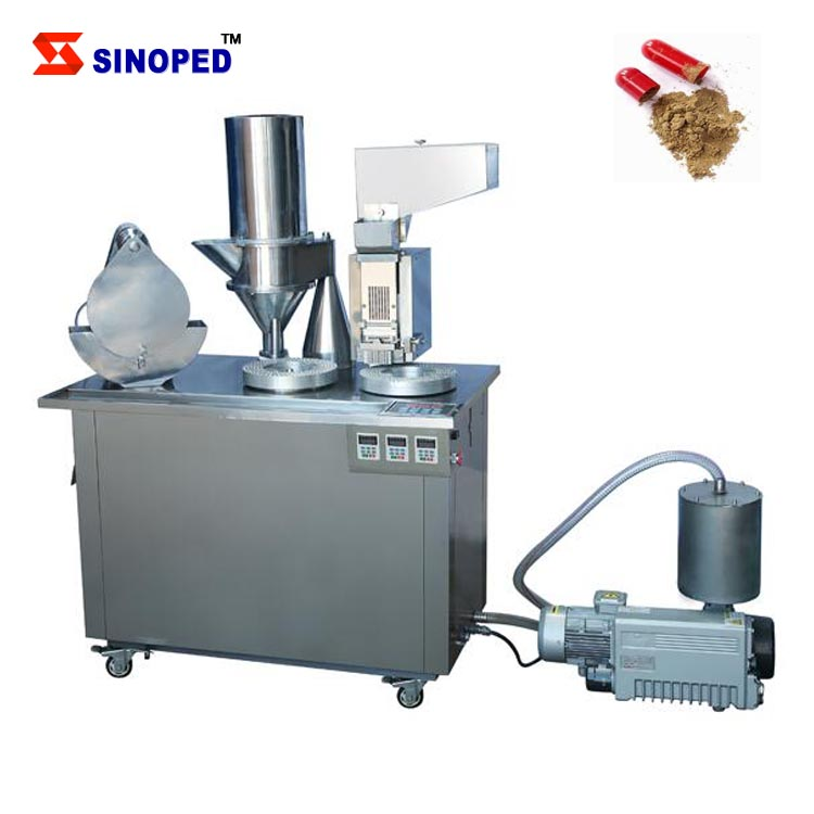 High Quality Semi Automatic Capsule Filling Machine 00, <strong>0</strong>, 1, 2, 3 Capsules