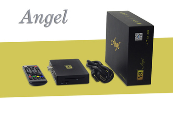 New Arrival 1GB+8GB Amlogic S805 Android 4.4 V8 Angel DVB-S2+T2+C+IPTV KODI14.2 installed 4K Android TV box