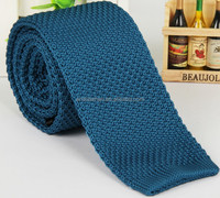 hand made solidcolor polyester knit cravat