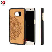 Decorate Mobile Phone Hard Plastic Natural Wood Grain Back Cover Case for Samsung S8 plus, Wooden Case for Samsung Galaxy S8