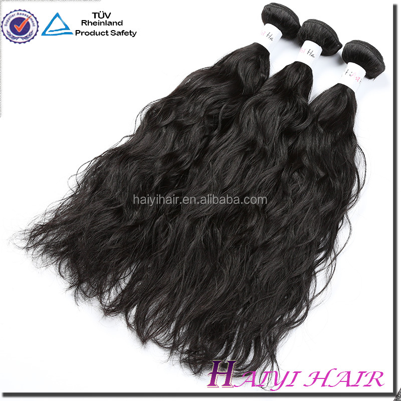 New Products Unprocessed Virgin Hair Extension Remy Wavy Human Hair Unprocessed Indian 100 Human Hair