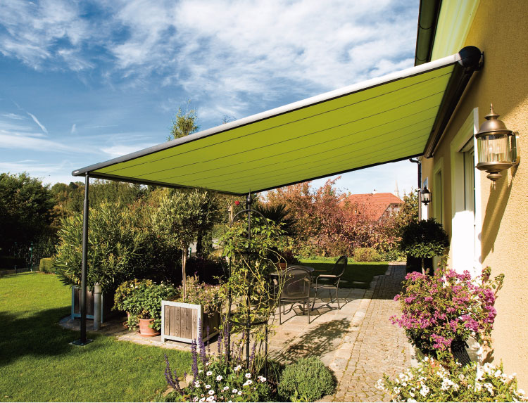 Special Sun and Rain Cover Awning with wind sensor pergola folding gazebo