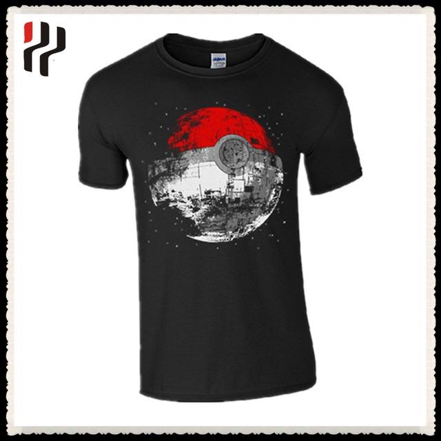 softextile Normal short sleeve striped men's pokemon t shirt/fancy color combination pokemon t shirt